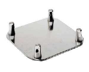 "Aluminum Base Plate 12"" SQ-4137"