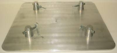 "Aluminum Base plate 16"" SQ-4137-H"