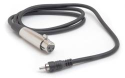 Hosa XLR Female to RCA Male Audio Interconnect Cable XRF-105 5 ft.