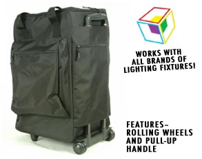Moving Head Bag w/Wheels