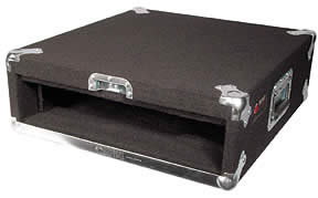 2 Space Carpeted Amp Rack