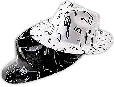 Music Note Fedora Dozen