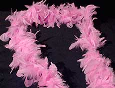 Deluxe Pink Boa