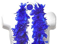 Deluxe Blue Boa