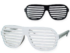 K West Black & White Sunglasses Dozen