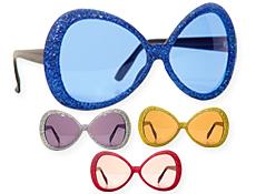 Glamour Glitter Glasses