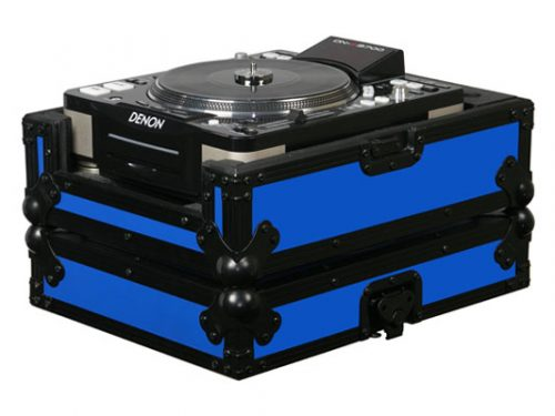 Large Format CD Player Case Blue