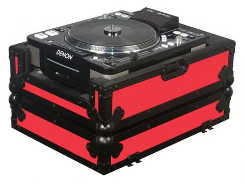 Large Format CD Player Case Red
