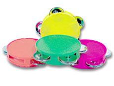 Mini Neon Tambourines