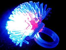 Flashing Porcupine Ring Dozen