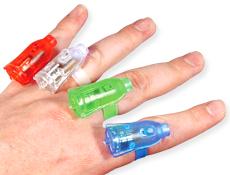 Finger Light Rings Dozen