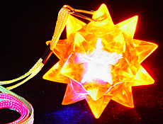 LED Star Ball Necklace