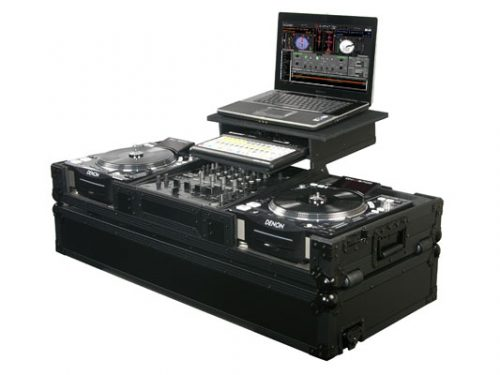 "Black Label Laptop/CD Coffin with 12"" Mixer"