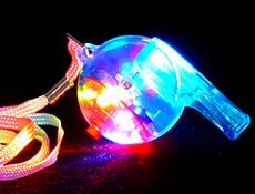 LED Whistle Dozen