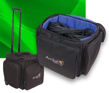 Arriba AL-60 Utility/LP Case with wheels