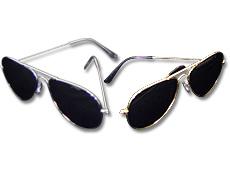 Gold & Silver Mirror Sunglasses