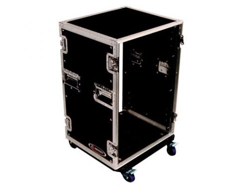 Odyssey FZAR16W 16 Space Amp Rack With Wheels
