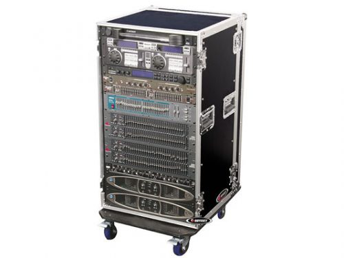 Odyssey FZAR20W 20 Space Amp Rack With Wheels