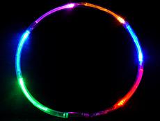 """20"""" Rainbow LED Necklace"""