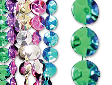 "42"" Flat Disco Beads"