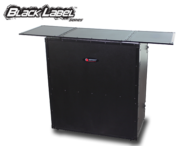 BLACK LABEL FOLD-OUT DJ TABLE STAND