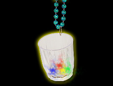 Beads With LED Shot Glass
