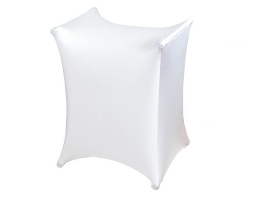WHITE X STAND SLIP SCREEN SCRIM