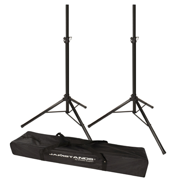 Speaker Stands w Carry Bag