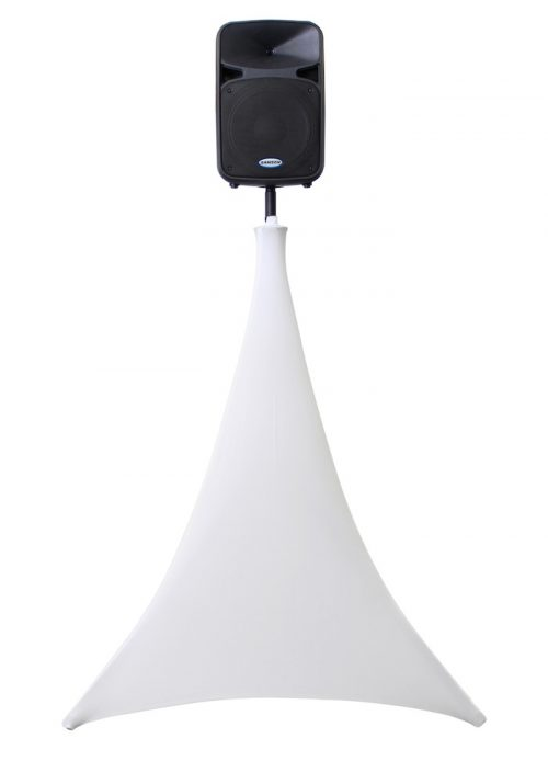 360 Degree White Tripod Stand Screen