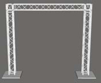 10ft x 10ft Goalie Post Box Truss