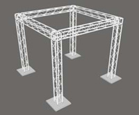 10ft x 10ft x 10ft Cube Box Truss