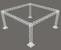 20ft x 20ft x 10ftx Cube Box Truss