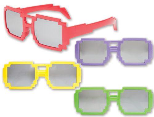 Mirrored Pixel Glasses