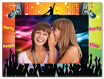 Party Time Picture Frame