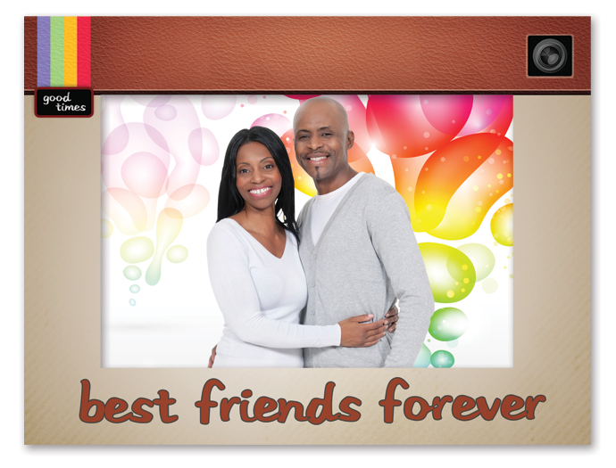 Best Friend Picture Frame Personalized Best Friend Picture Frame
