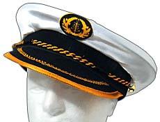 Nylon Captains Hat