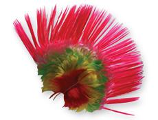 Rainbow Mohawk Wig