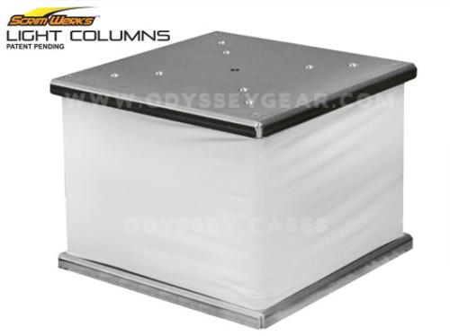 1 foot tall truss sleeve light column