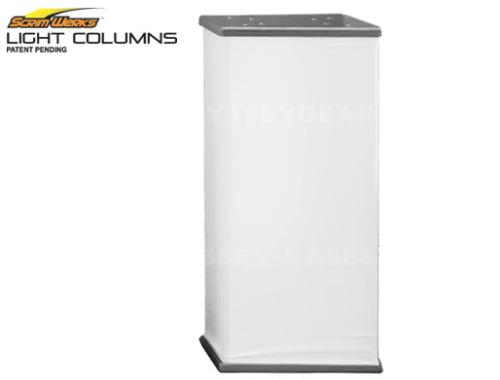2 feet tall truss sleeve light column