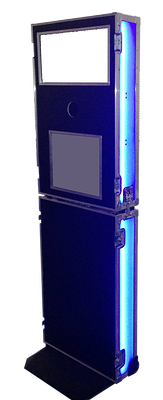 Slim Line Booth with LED