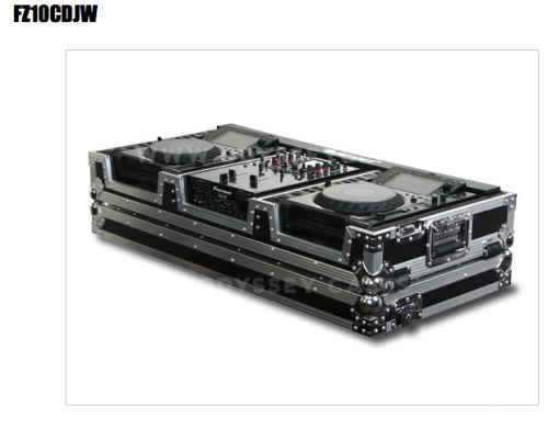 """CD DJ Coffin With 10"""" Mixer"""