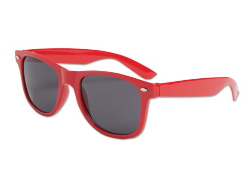 Blues Brother Style Glasses - Red