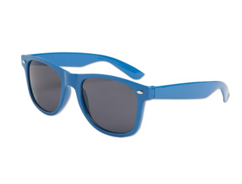 Blues Brother Style Glasses - Blue