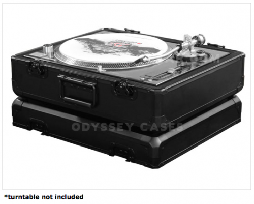 Black Krom Turntable Case