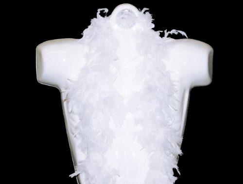 6' Deluxe White Boa