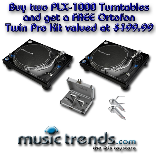 PLX-1000 Twin Pack
