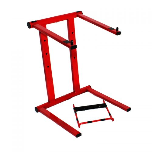 Foldable Red Laptop Stand