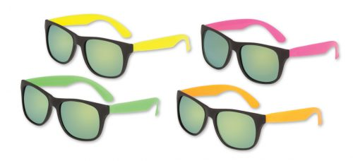 Neon Classic Sunglasses Mirrored Lenses