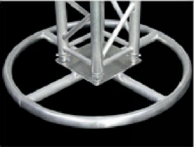 3.28ft. Circle Truss Base Plate