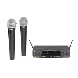 Dual Wireless Mics